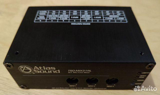 Микшер Atlas Sound TSD-MIX31RL