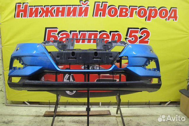 89524408730 Nissan Qashqai (J11) 2014) бампер передний синий