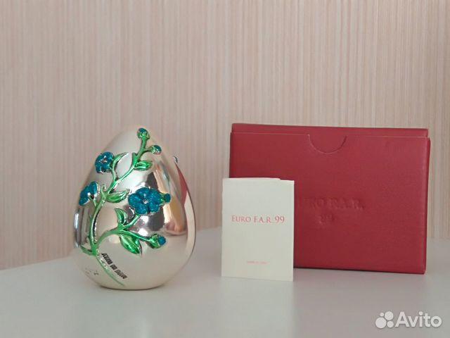 Коллекционное яйцо, Италия, серебрение, Euro F.A.R 89110075006 купить 4