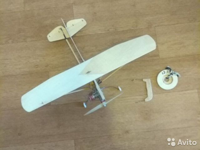 Кордовая модель самолета як-12 89063901161 купить 2