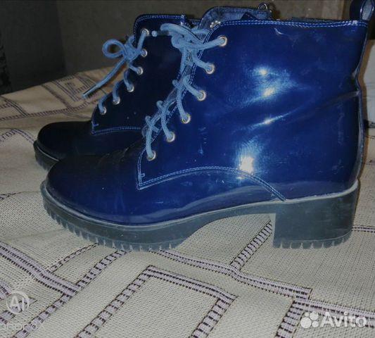 Ботинки лакированные 89026429859 купить 1