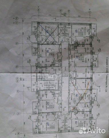 1-к квартира, 40 м², 8/12 эт.