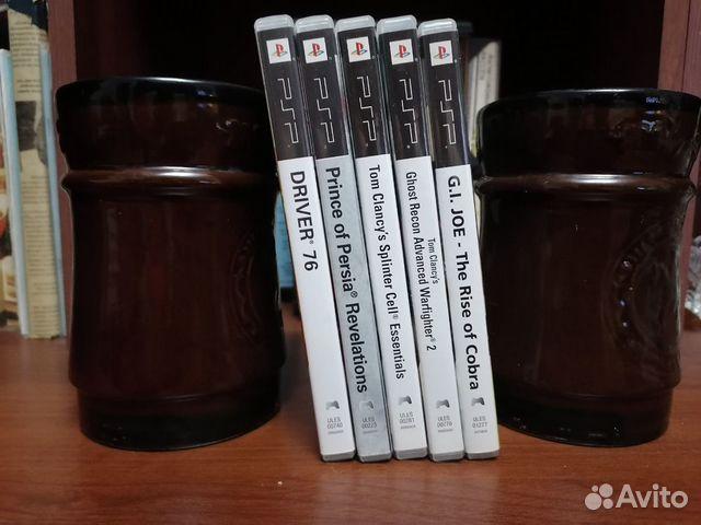 Продаю диски PSP лицензионные 5шт 89284976726 купить 2