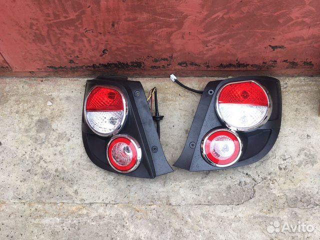 Задние фонари шевроле авео т300 89611029688 купить 1