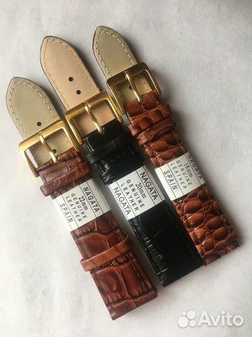 Кожаные ремешки для часов Nagata