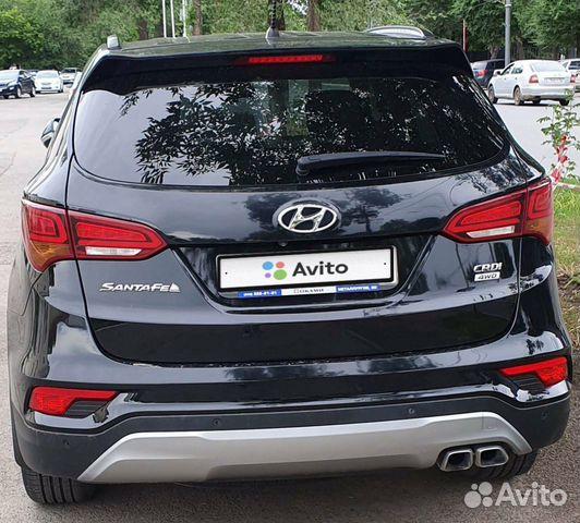 Hyundai Santa Fe, 2016 89123406495 купить 1