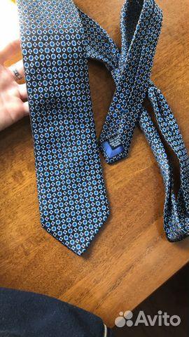 Шелковый галстук Hugo Boss оригинал  89062140028 купить 3