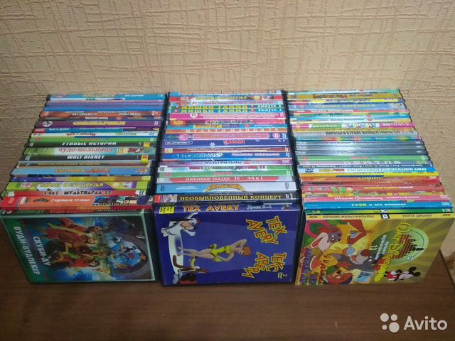 Диски DVD мультфильмы  купить 1