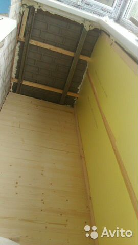 Внутренняя отделка балконов  89202699253 купить 2