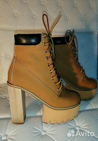 Ботинки Jeffrey Campbell, США,36 размер  89632935615 купить 2