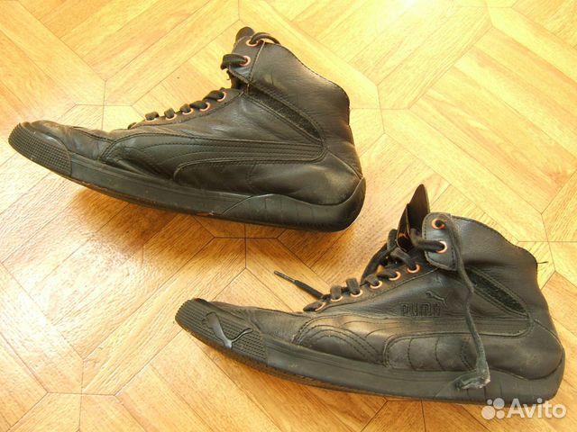 126a9f38699f Высокие кроссовки Puma р. 42 натур-я кожа б у купить в Воронежской ...