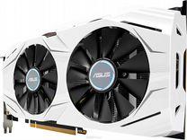 Видеокарта asus Dual GeForce GTX 1070 O8G 8GB