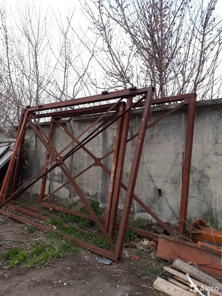 Ворота металлические  89999691215 купить 1