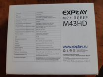 MP3-плеер Explay M43HD 8Gb
