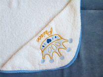 Полотенце уголок с именной вышивкой