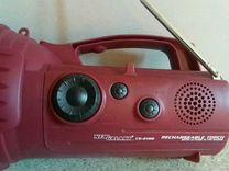 Фонарик-радио