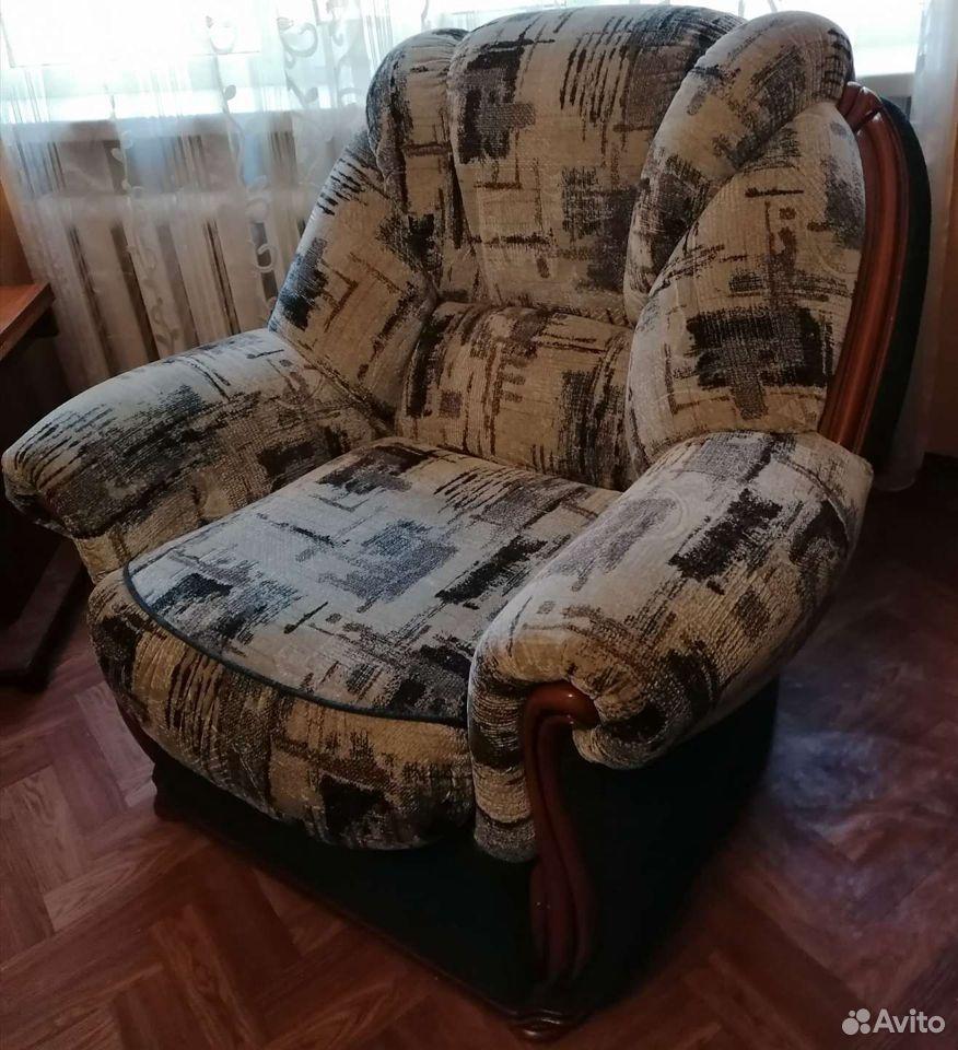 Диван и 2 кресла. отличное состояние  89023805566 купить 9