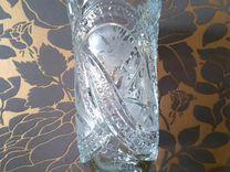 Хрустальная ваза новая СССР
