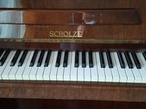 Пианино scholze