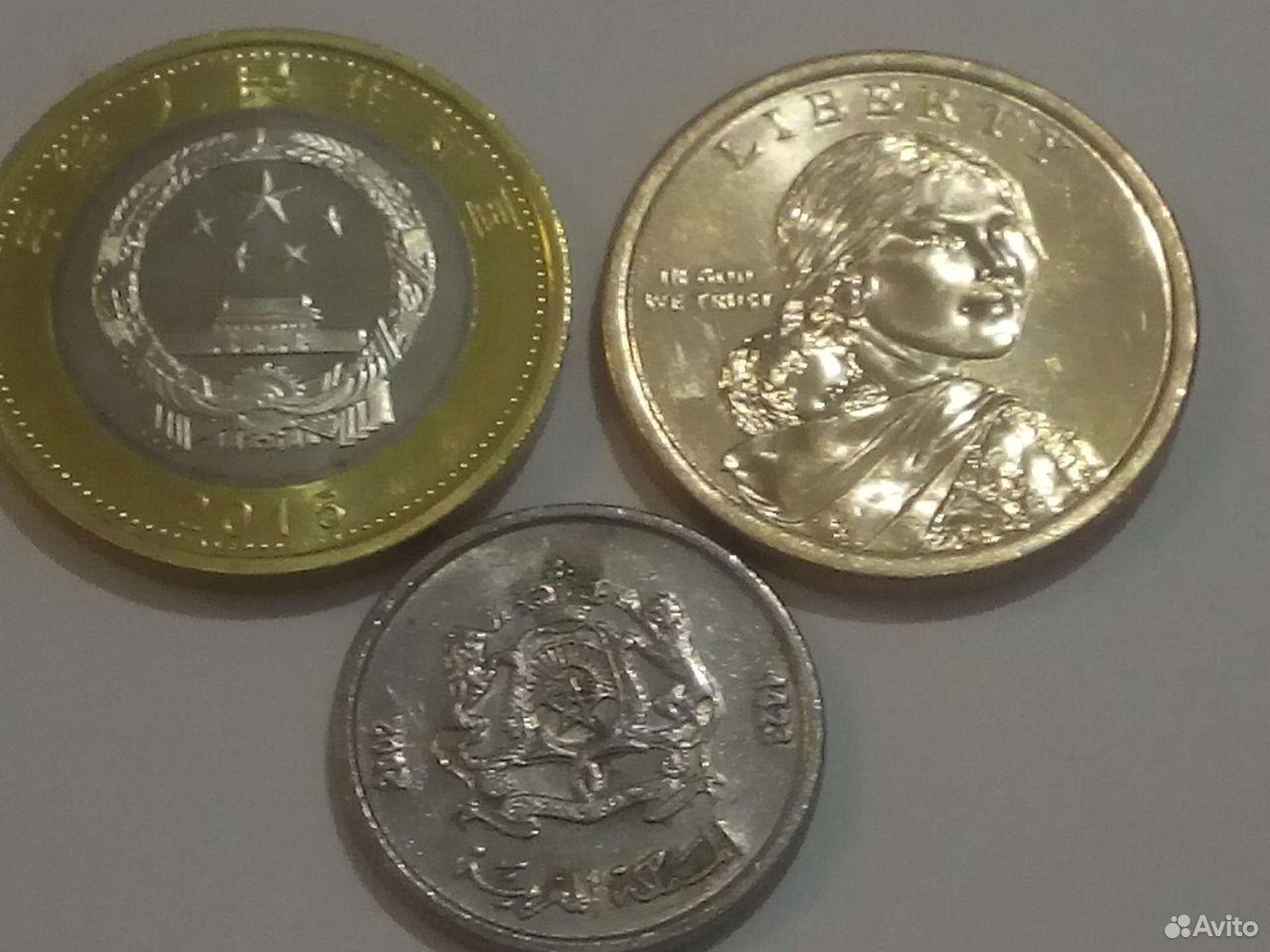 Монеты иностранные  89227040211 купить 2