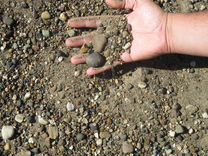 Песок,опгс,щебень,чернозем,гравий от 1т