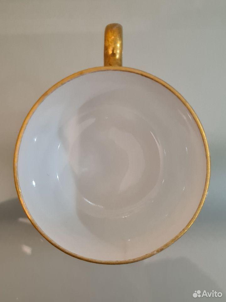Антикварная чайная пара ифз  89013700120 купить 6