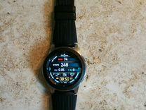 SAMSUNG Galaxy watch 46 mm,не ростест, полный комп