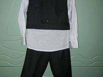 Нарядный костюм 3-4 года+ вторая жилетка в подарок