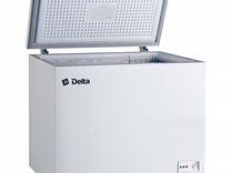 Ларь морозильный 252л delta D-С252нl