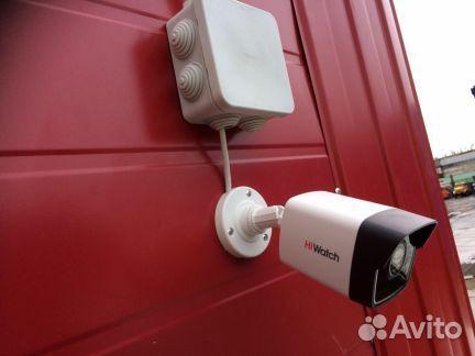 Комплект видеонаблюдения, камеры онлайн