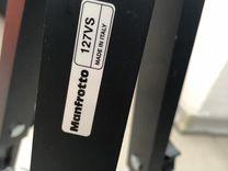 Manfroto 127vs штатив на колесах тележка-долли