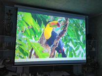 Проектор LED 96 с экраном