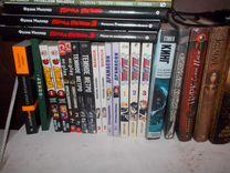 Много книг разных жанров