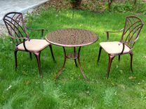 Комплект литой мебели №2