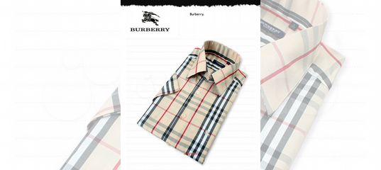 a588bd1098a4 Рубашка с коротким рукавом Burberry купить в Санкт-Петербурге на Avito — Объявления  на сайте Авито