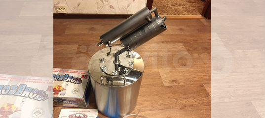самогонный аппарат с теном и терморегулятором и двумя