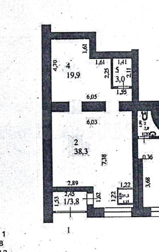 Торговое помещение, 66.3 м²  89379390708 купить 3
