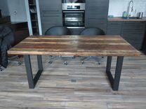 Стол на металлическом основании для кафе и дома — Мебель и интерьер в Краснодаре