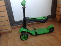 Детский самокат-велобег в отличном состоянии