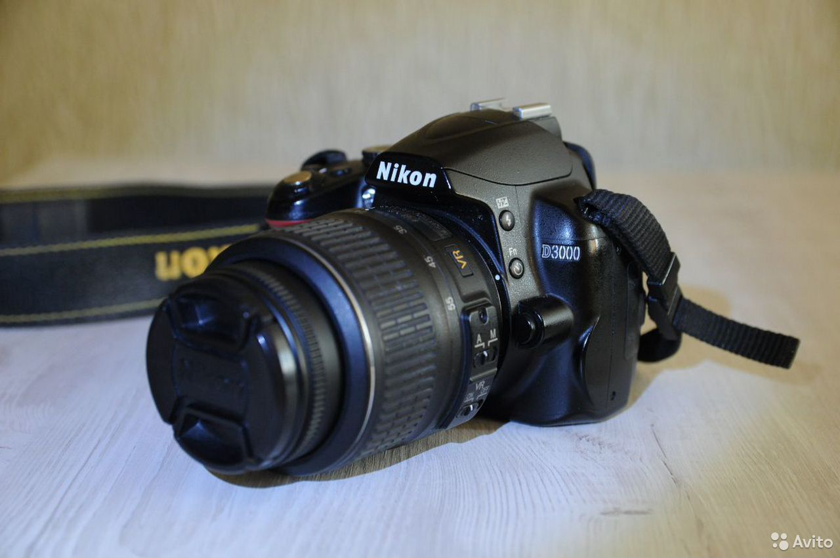 Зеркальный фотоаппарат Nikon d3000  89539538882 купить 1