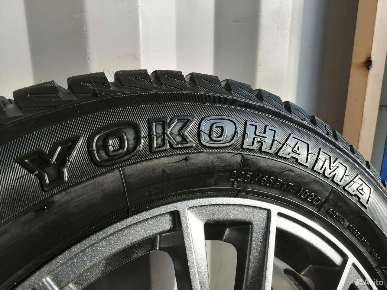 Комплект колес (№161) из Японии  89244146927 купить 7