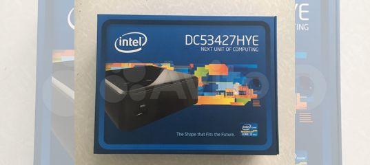 Intel NUC DC53427HYE купить в Москве | Бытовая электроника | Авито