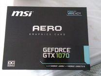 Видеокарта MSI GeForce GTX 1070 aero 8G OC