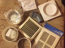 Вентиляционные решетки/соединители для возд. трубы