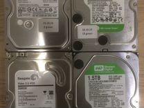 Жесткие диски Б/У — Товары для компьютера в Перми