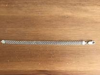 Серебряный браслет италия