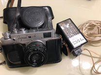 Фотоаппарат Зоркий 4, вспышка сэф