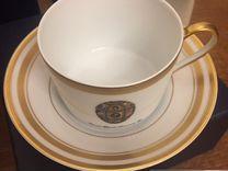Чайная чашка с блюдцем Faberge