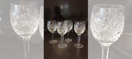Хрустальные бокалы купить в Ставропольском крае с доставкой | Товары для дома и дачи | Авито