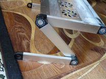 Столик для ноутбука cmls-100 crown с охлаждением